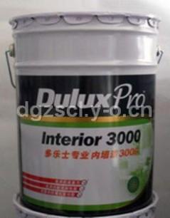 多乐士3000型内墙乳胶漆20L 工程涂料/油漆涂料/乳胶漆 单价210元