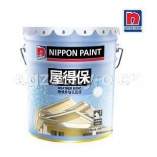 立邦漆 立邦屋得保耐候面漆 外墙乳胶漆16L 抗碱 油漆/涂料 正品 单价380元
