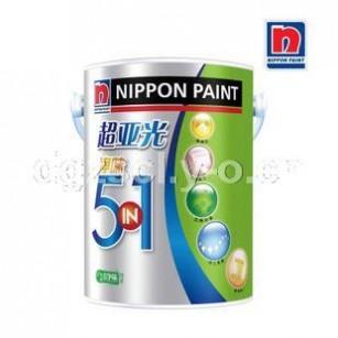 立邦漆 正品 立邦超亚光净味五合一 乳胶漆墙面漆18L 油漆/涂料 单价390元