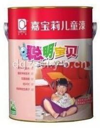 嘉宝莉聪明宝贝儿童专用乳胶漆面漆JRM8050 6.4kg 内墙漆 单价250元